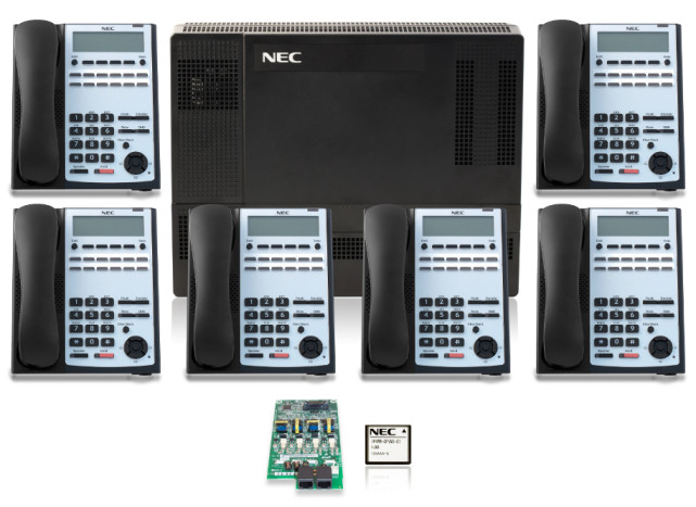 SL1100 Digital Quick-Start Kit with 12-Button Telephones 915x667